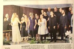 Schaumburger Nachrichten zum Konzert in Bad Nenndorf am 22.09.2019